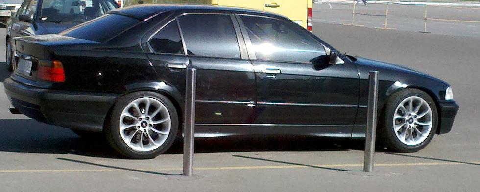 из за чего большой расход топлива BMW e36