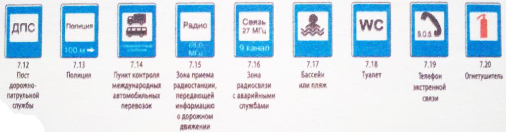 05 Знаки сервиса
